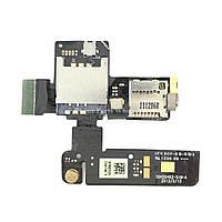 Слот сим карты и карты памяти на шлейфе для HTC T320e One V G24 Original