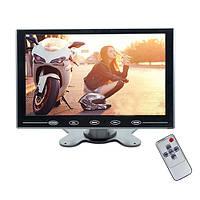 """Монитор HDMI портативный в авто 9"""" дюймовый с VGA и AV (Podofo N2012)"""