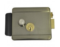 Falcon Eye Lock Chrome  - электромеханический накладной замок