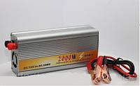 Преобразователь напряжения авто инвертор 12V-220V 2000W