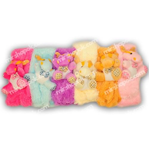 детские шарфики с мордочками