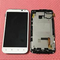 Дисплейный модуль в рамке для HTC X315e Sensation XL G21 (White) Original
