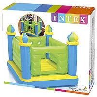 Детский надувной батут Замок INTEX 48257 Jump-o-Lene, 132х132х107 см