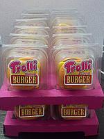 Trolli Gummi Burger желейні бургери желейные бургеры 50 грамм