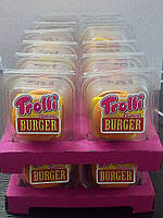 Trolli Gummi Burger желейні бургери желейные бургеры 50 грамм, фото 1
