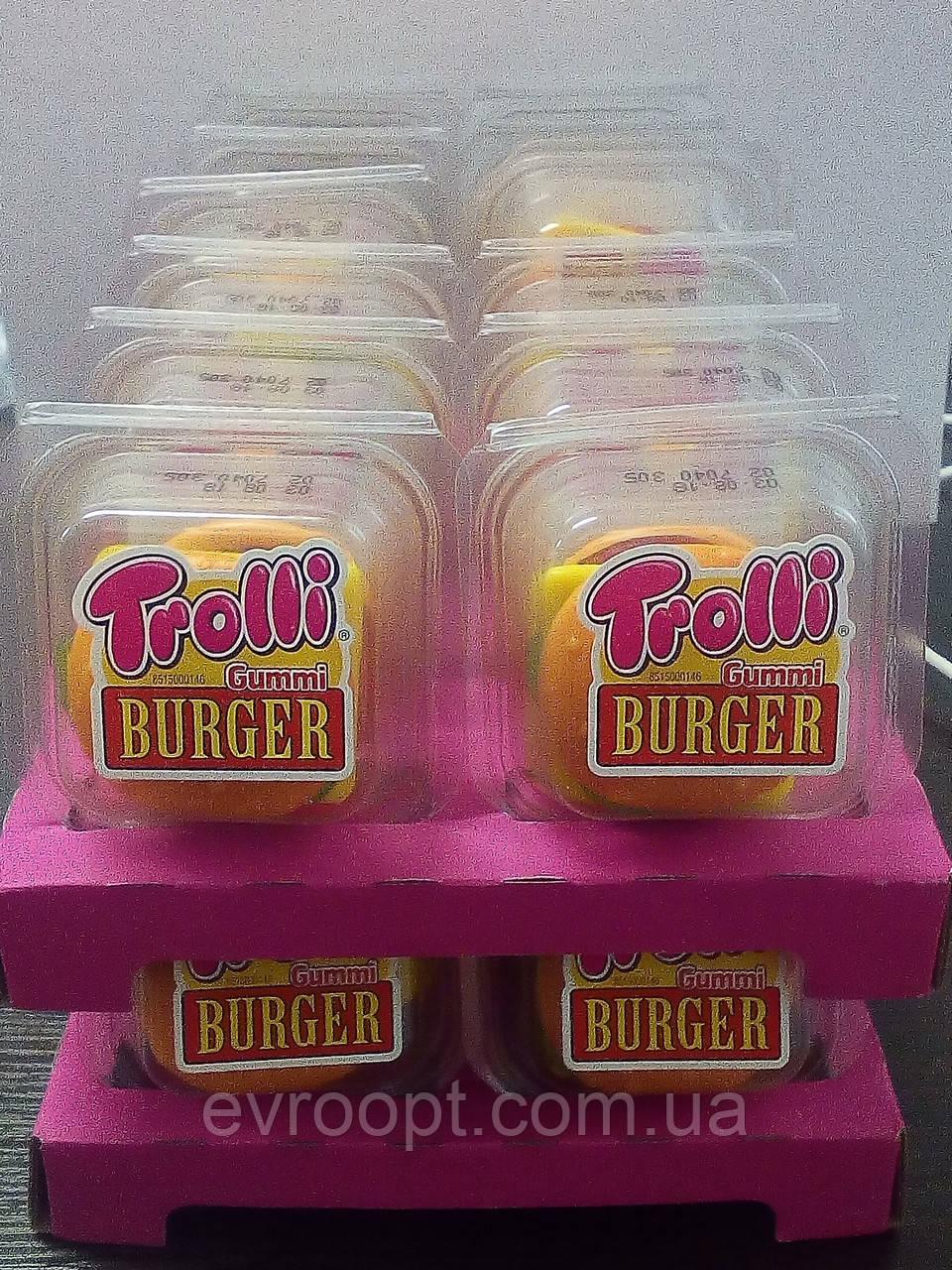 Trolli Gummi Burger желейні бургери желейные бургеры 50 грамм - Продукти з  Європи в Львове 27470956da75f