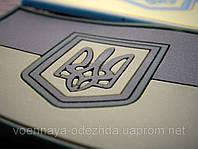 """Шеврон """"Флаг Украина"""" полевой резиновый на липучке"""