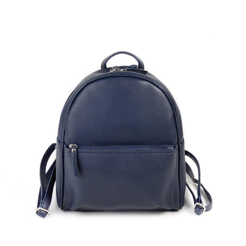 bab24c93de33 Рюкзак женский синий М132-39 небольшой городской молодежный на молнии, фото  1