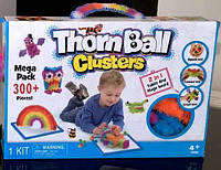 Конструктор-липучка Thorn Ball Clusters  2в1 с 2-х сторонней доской и маркером на 300+ деталей