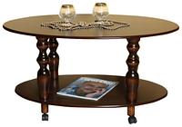 Стол журнальный Прадо (орех темный ), фото 1