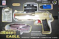 Пистолет, гелевые пули, аккумулятор