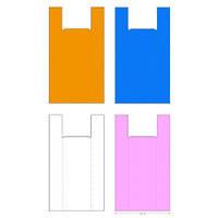 Полиэтиленовые пакеты майка №5 35*58 см /уп.100шт
