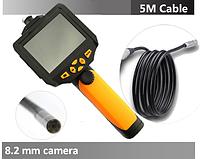 Эндоскоп NTS200 5 м  8,2 мм бороскоп видеоскоп видеоэндоскоп цифровой, фото 1