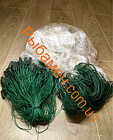 Сеть рыболовная одностенка (вшитый груз, нитка) 100х3м ячея 40