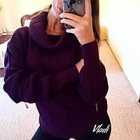 Теплый свитер с хомутом 88152