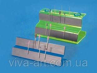Тримач насадок магнітний 2-х ярусний (синій)