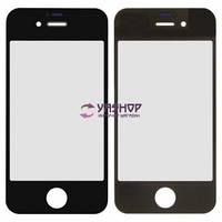 Стекло корпуса для Apple iPhone 4, 4S черный