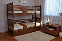 Двухъярусная кровать Ева (с ящиками)