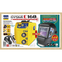 Сварочный инвертор GYS Gysmi E160 + Маска LCD Techno 9/13