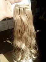 волос на заколках голивудская волна пшеница
