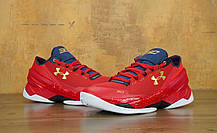 Мужские кроссовки Under Armour Curry 2 Red, фото 2