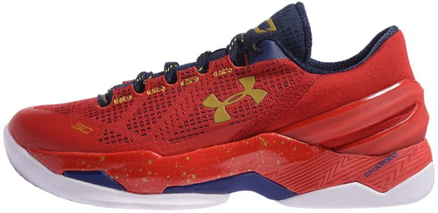 Мужские кроссовки Under Armour Curry 2 Red
