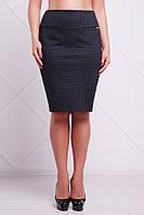 Батальная черная юбка Ketty Fashion UP 50-56 размеры