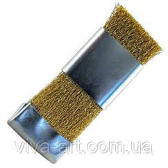 Щетка бронзовая ручная для чистки фрез