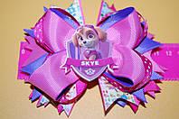 Резинка для волос бантик Щенячий патруль розовый код m257, фото 1