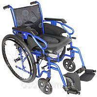 Инвалидная коляска OSD Millenium III с санитарным оснащением (Италия) + насос OSD-STB3/STC3