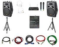 Аренда звукового оборудования для выставочных стендов