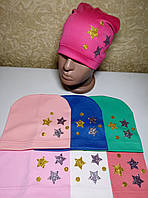 Детские трикотажные шапки оптом от производителя