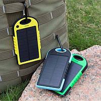 Solar Power Bank 5000 МаЧ (аккумулятор с солнечной батареей)