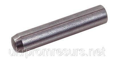 DIN 1473 Штифт 8 мм цилинтрический насеченный з нержавіючої сталі