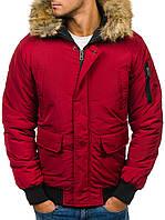 Мужская зимняя  куртка Бомбер