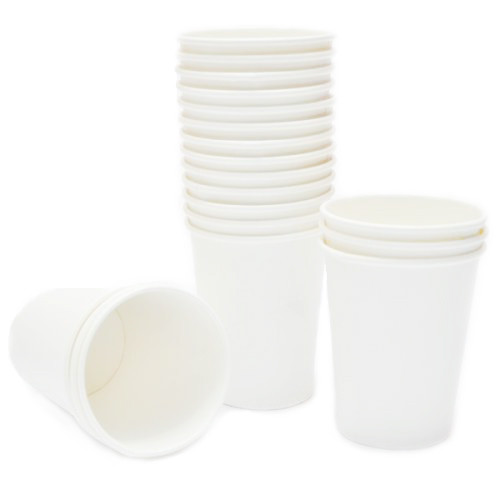 бумажные стаканчики белые одноразовые фото