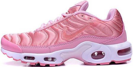7ac9c185 Женские кроссовки Nike Air Max Plus TN Pink купить в интернет ...