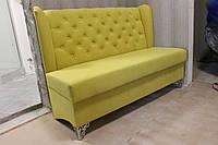 Мягкий диванчик в прихожую или кухню (Яркий салатовый)
