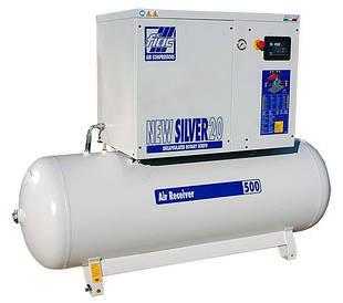 Компрессор винтовой, Vрес=500л, 1670л/мин, 13bar, 15кВт  FIAC SILVER 20-500