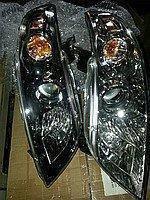 Фара Ниссан Инфинити (Nissan Infiniti) передняя правая темная, код  26010CL03A. Новая