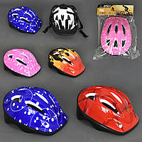 Шлем 779-56 (60) 6 цветов, в кульке