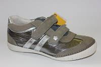 Детские кожаные кроссовки для девочек Тм D.D.Step 31р.