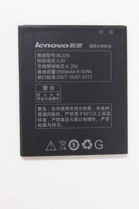 Аккумулятор BL229 Lenovo A8 A806 A808t, фото 2