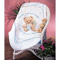 """Набор для вышивания крестом """"Пышный мишка//Cuddly Bear Quilt"""" DIMENSIONS"""