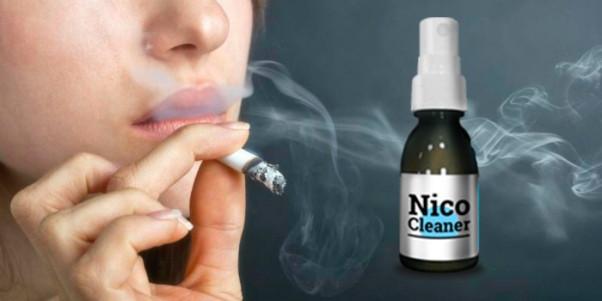 Nico Cleaner - спрей для очистки лёгких от табачного дыма (Нико Клинер), 30 мл - Гипермаркет товаров. Цены от производителя! в Одессе