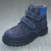 Осенне-зимние ботинки мальчик, Minican размер 26 28