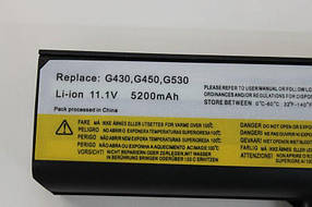Аккумулятор для ноутбука Lenovo 3000 IdeaPad G430 G450 G530 G550 N500 Z360 B460 B550 V460 V450 G455 G555