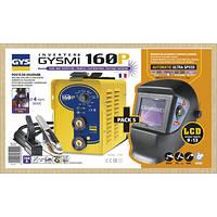 Сварочный инвертор GYS Gysmi 160 P + Маска LCD Techno 9/13