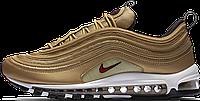 Женские кроссовки Nike Air Max 97 OG Metallic Gold 885691-700, Найк Аир Макс 97