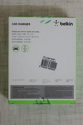 Автомобильное зарядное устройство Belkin 1 A, фото 2